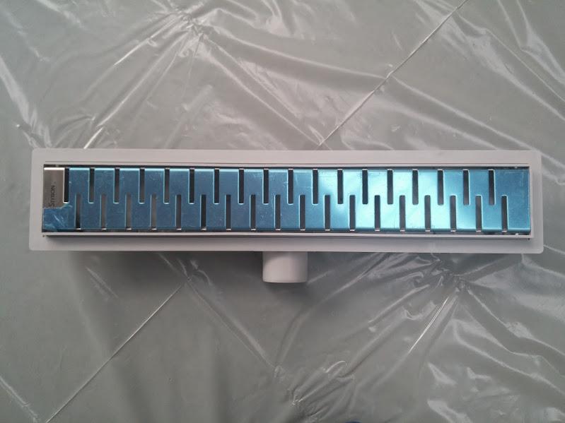 STYRON zuhanyfolyóka, zuhanylefolyó 500-as, Medium (STY-M-50) Komplett csomag
